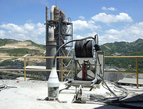 Cement silo cleaning & bin cleaning systems and services.