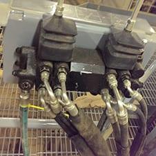 a. Hopper popper precision controls.