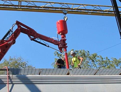 HopperPopper unloading railcar