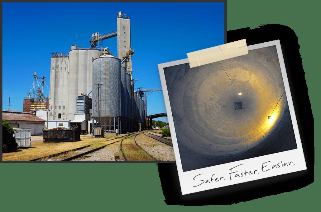 Pneumat Binwhip Makes Feed Mill Silos Empty