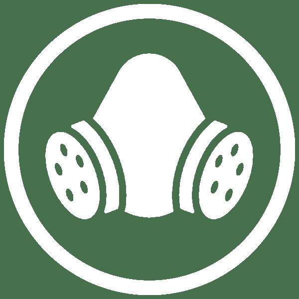Respirator Dust Control Icon