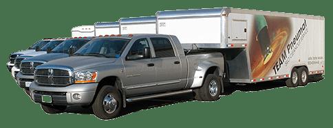 TeamPneumat Truck Fleet
